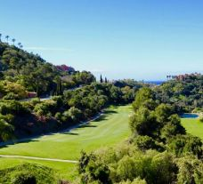 The Los Arqueros Golf Course's picturesque golf course within magnificent Costa Del Sol.