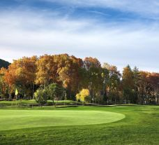 The Vidago Palace Golf Course's beautiful golf course in striking Porto.