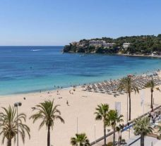 The INNSIDE Calvia Beach's lovely beach in pleasing Mallorca.