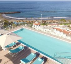 The Iberostar Selection Sabila's scenic outdoor pool in spectacular Tenerife.