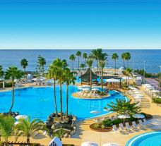 Iberostar Selection Anthelia's picturesque sea view pool in sensational Tenerife.