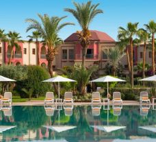 The Iberostar Club Palmeraie Marrakech's scenic main pool in sensational Morocco.