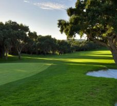 The Real Club Valderrama's impressive golf course situated in sensational Costa Del Sol.