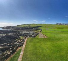 The Ardglass Golf Club's lovely golf course within fantastic Northern Ireland.