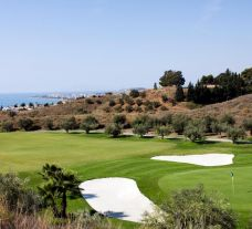 The Baviera Golf's lovely golf course within striking Costa Del Sol.