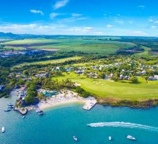 View Anahita Golf  Spa Resort's impressive hotel situated in brilliant Mauritius.