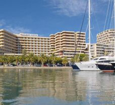 Melia Palma Marina's beautiful marina within marvelous Mallorca.