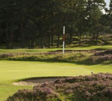 The Grantown-on-Spey Golf Club's picturesque golf course in gorgeous Scotland.