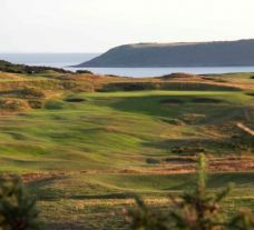 Pennard Golf Course Tenth Hole