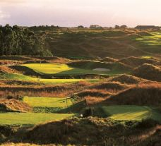 The Fancourt Links Course's scenic golf course situated in marvelous South Africa.