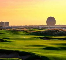 Yas Links includes some of the finest golf course within Abu Dhabi
