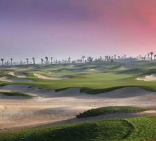 All The Saadiyat Beach Golf Club's impressive golf course situated in spectacular Abu Dhabi.