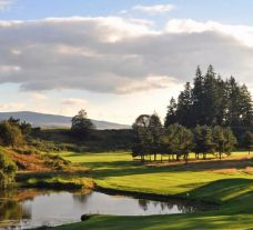 The The Queens Course - Gleneagles's impressive golf course situated in amazing Scotland.