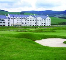 The Macdonald Cardrona Championship Course's scenic golf course situated in dramatic Scotland.