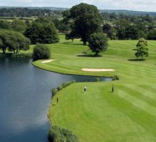 The The Cambridgeshire Golf Course's scenic golf course situated in dramatic Cambridgeshire.