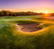 The Gog Magog Golf Club's picturesque golf course in gorgeous Cambridgeshire.