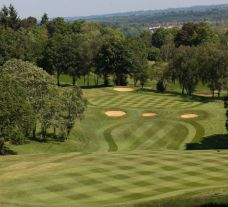 View Moor Park Golf Club's lovely golf course in marvelous Hertfordshire.