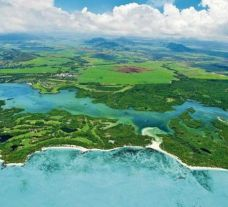 Ile aux Cerfs (Le Touessrok) hosts some of the preferred golf course near Mauritius