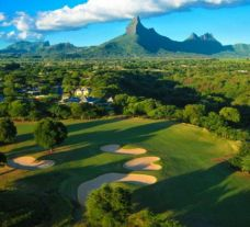 All The Tamarina Golf's lovely golf course situated in staggering Mauritius.