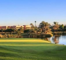 The PalmGolf Marrakech Ourika's lovely golf course situated in vibrant Morocco.