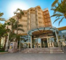 entrance of the IFA Dunamar Hotel
