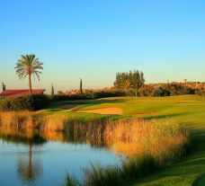 The Amendoeira O'Connor Jnr Course's beautiful golf course within marvelous Algarve.