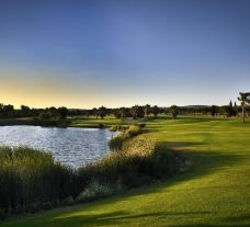 View Dom Pedro Laguna Golf Course's picturesque golf course situated in pleasing Algarve.
