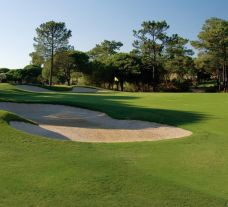 The San Lorenzo Golf Course's scenic golf course in sensational Algarve.