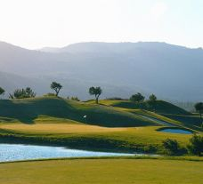 The Penha Longa Atlantic Golf Course's picturesque golf course situated in stunning Lisbon.