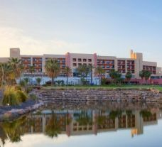 The Valle del Este Golf Resort's scenic hotel within magnificent Costa Almeria.