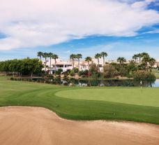 The Alicante Golf Club's beautiful golf course within amazing Costa Blanca.
