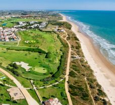 The Barcelo Costa Ballena Golf  Spa Resort's lovely beach situated in vibrant Costa de la Luz.
