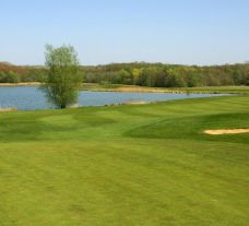 View Golf de lAilette's lovely golf course within striking Champagne & Alsace.