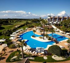View Precise Resort El Rompido's lovely ariel view situated in pleasing Costa de la Luz.