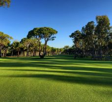 The Kaya Palazzo Golf Club's lovely golf course situated in vibrant Belek.