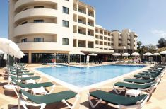 The Real Bellavista Hotel  Spa's lovely main pool within impressive Algarve.
