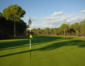 The Cornelia Golf Club's beautiful golf course within dazzling Belek.