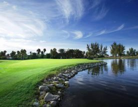 The Maspalomas Golf Course's picturesque golf course in gorgeous Gran Canaria.