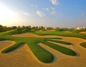 The Montgomerie Golf Club boasts among the best golf course in Dubai