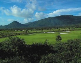 The Sun Valley Sanya Golf Course's scenic golf course within dazzling China.