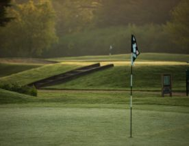The Bicester Golf Club's beautiful golf course in striking Oxfordshire.