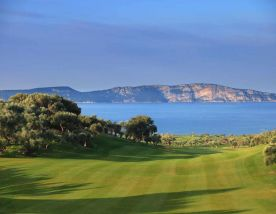 The Costa Navarino - The Bay Course's impressive golf course situated in pleasing Greece.