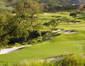 View La Cala Europa Course's scenic golf course situated in stunning Costa Del Sol.