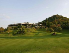 The Laem Chabang International Country Club's picturesque golf course within astounding Pattaya.