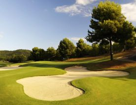 The Golf Son Quint's beautiful golf course within amazing Mallorca.