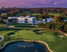 The Antalya Golf Club Sultan Course's lovely golf course in dramatic Belek.