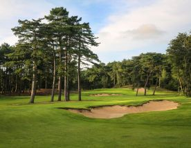 The Hardelot Les Dunes's scenic golf course in faultless Northern France.