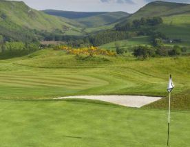 The The PGA National Academy Course - Gleneagles's scenic golf course situated in gorgeous Scotland.