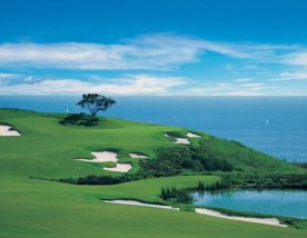 All The Pelican Hill Golf Club's beautiful golf course situated in spectacular California.