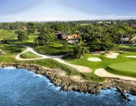 View Casa De Campo Resort Golf's lovely golf course within striking Dominican Republic.